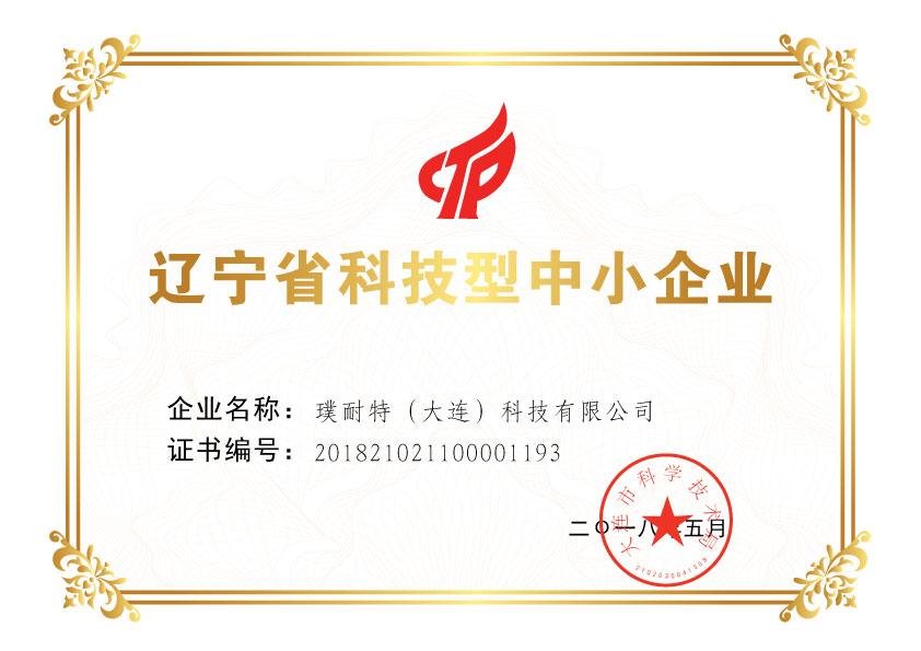 辽宁省科技型中小企业
